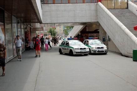 Pozsonyi rendőrök